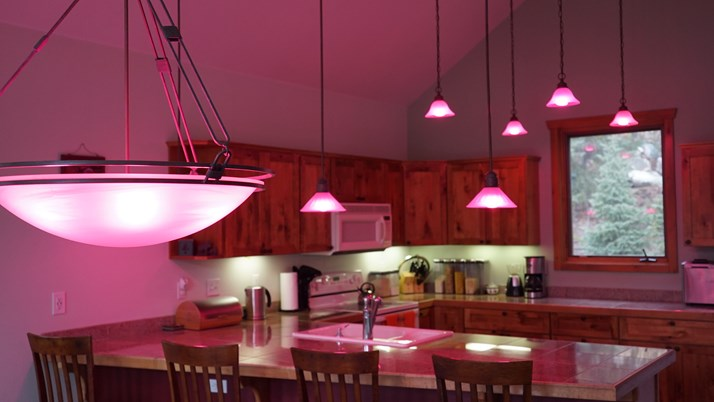 RGB Lighting - Pink